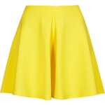 Topshop **Scuba Skater Skirt with Pleast by Oh My Love