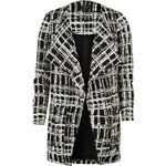 Kabátek dámský Lipsy Mono White/Black