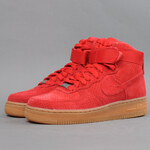 Nike WMNS Air Force 1 HI Suede university red / university red