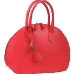 Baťa Stylová kožená kabelka na zip