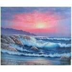 Obraz - Východ slunce u moře