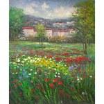 Obraz - Rozkvetlá zahrad