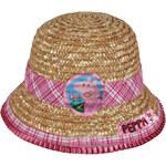 Disney Brand Dívčí slaměný klobouček Peppa Pig