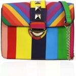GESSY by LYDC Barevná kabelka Gessy London Rainbow