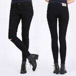 Lesara Skinny-Jeans mit Knie-Cut-Out - 40