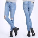 Lesara Jeans slim effet usé