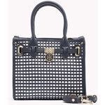 Tommy Hilfiger Woven Belted Mini Tote