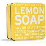 Scottish Fine Soaps Mýdlo v plechu - Citrón A01156, 100 g