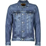 Jack Jones Riflové bundy JEAN JACKET JEANS INTELLIGENCE Jack Jones