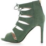 Sergio Todzi Zelené sandály Stimer