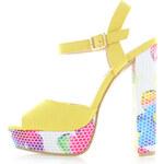 Sergio Todzi Žluté sandály Monar