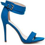 SEASTAR Letní a sexy modré dámské sandály, vel. 39