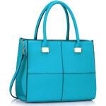 LS fashion LS dámská kabelka LS00153M tyrkysová