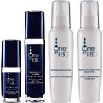 One by HBC Noční krém proti vráskám + Oční protivrásková péče + Čistící pleťový gel + Odličovač obličeje a očí NEW - SNYEG