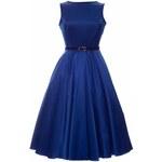 Dámské šaty Lady Vintage Cobalt modré