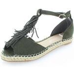 Bestelle Zelené sandály Gilotta