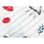 Mia Bag Luxusní kabelka GRAFFITI - 4 barvy, Barva bílá