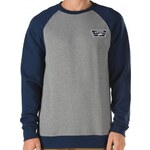 VANS Mikina Vans Rutland concrete heather-dress blues heather