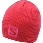 Čepice Salomon Logo dám. růžová