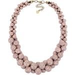 Světle růžový korálkový náhrdelník Pieces Tessa