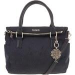 Černá kabelka s detaily ve zlaté barvě Desigual Liberty Emma