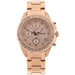 Dámské hodinky v růžovozlaté barvě Fossil Decker
