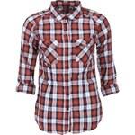 Červená kostkovaná košile Haily´s Gabby