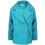 Tyrkysový kabát Lavand