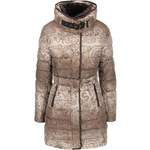 Béžový kabát Desigual Alethea