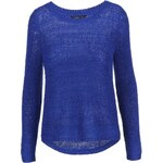 Modrý volnější svetr ONLY Geena