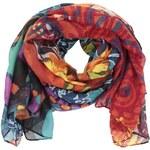 Barevný šátek se vzory Desigual Ulus