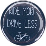 Modrá placka Ride More Drive Less ZOOT Originál