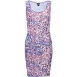 Fialovo-modré vzorované šaty Mr. Gugu & Miss Go Foliage pop