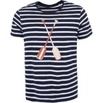 Modro-bílé pánské pruhované triko ZOOT Originál Pádla