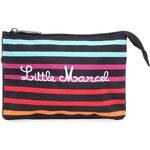 Barevná pruhovaná kabelka přes rameno/psaníčko Little Marcel Pidream