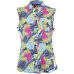 Barevná dámská košile bez rukávů Bellfield Mada