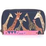 Tmavě modrá peněženka Disaster Giraffe