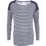 Modro-bílé pruhované těhotenské tričko Mama.licious Tamira