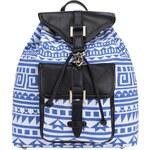 Bílo-modrý batoh s aztéckým motivem Anna Smith
