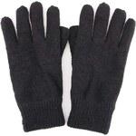 Černé pletené rukavice Selected Jules