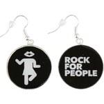 Náušnice ROCK FOR PEOPLE