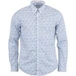 Bílá košile se světle modrým vzorem Ben Sherman