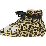 Leopardí plastové návleky na boty Spinning Hat