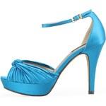 Modré luxusní střevíčky Victoria Delef