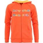 Oranžová mikina Little Marcel Shop