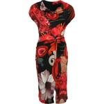 Červené šaty Desigual Uralet