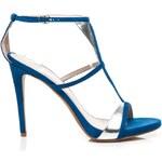 POTI PATI Elegantní modré sandály na párty
