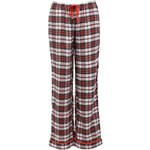 Šedé kostkované kalhoty DKNY