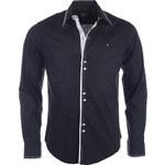 Pánská černá košile CARISMA