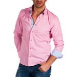 Pánská růžová košile BINDER DE LUXE